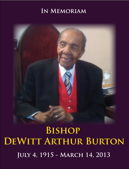 Bishop DeWitt Arthur Burton